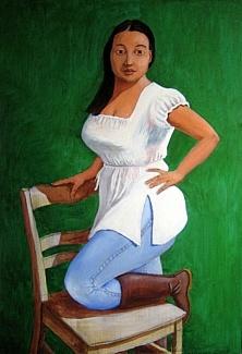 Portraitstudie N.L.