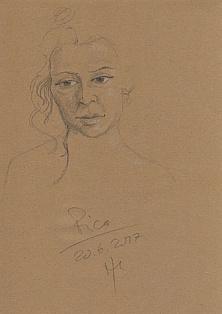 Portraitzeichnung R.N.